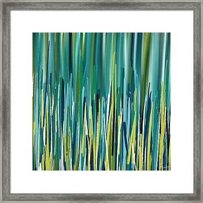 Peacock Spikes Framed Print by Lourry Legarde