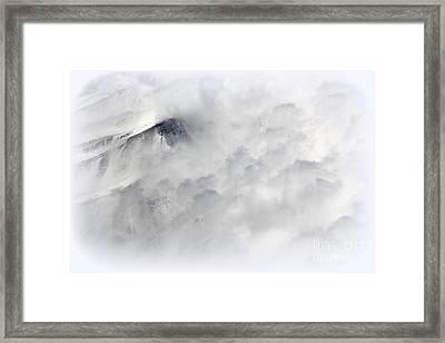 Peak A Boo Framed Print