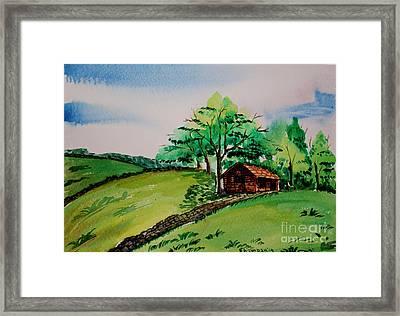 Peak District-1 Framed Print by Shakhenabat Kasana