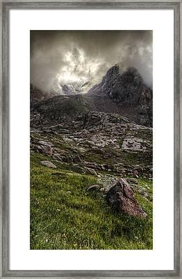 Peak Eighteen Framed Print