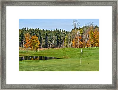 Peak N Peak Resort Framed Print