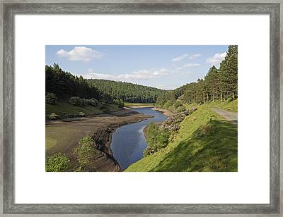 Peak Reservoir Framed Print