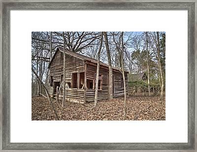 Peak Ruins-1 Framed Print