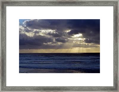 Peakaboo Framed Print by Sheldon Blackwell