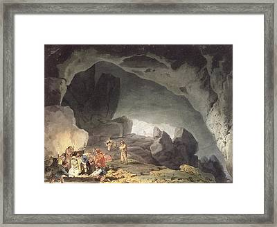 Peaks Hole, Derbyshire Framed Print by Joseph Mallord William Turner