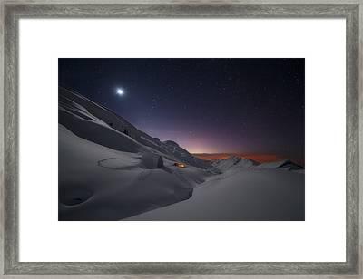 Peaks Of Europe Framed Print