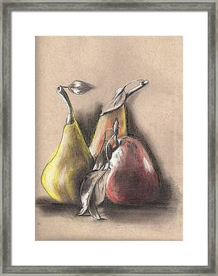Pear2 Framed Print