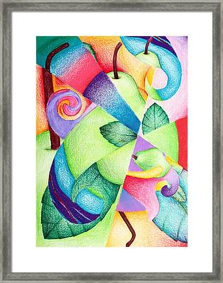 Pearish The Thought Framed Print