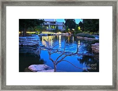 Pearl Center - No.529 Framed Print