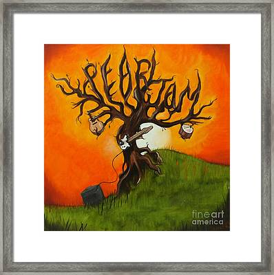 Pearl Jam Tree Framed Print by Tarah Davis