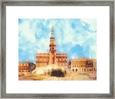 Pearl Of Renaissance Framed Print by Mo T