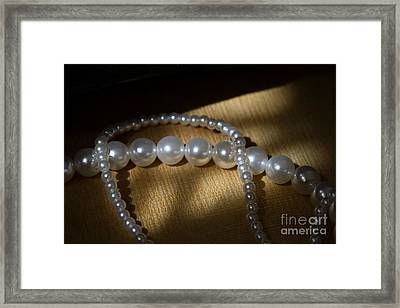 Pearl Framed Print by Zafer GUDER