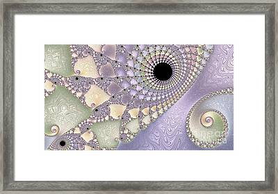 Pearlized  Framed Print