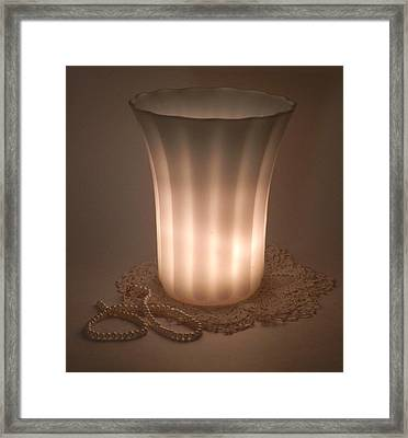 Pearls  Framed Print