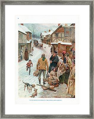 Pears Annual 1910s Uk Cc Villages Framed Print by The Advertising Archives