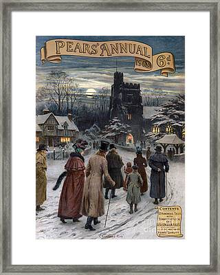 Pears Annual 1913 1910s Uk Cc Villages Framed Print by The Advertising Archives