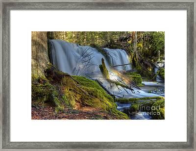 Pearsony Falls Framed Print by James Adams