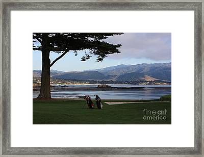 Pebble Beach Framed Print