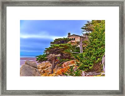 Pebble Beach Ca Framed Print