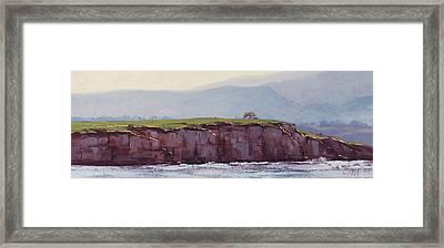 Pebble Beach California Framed Print