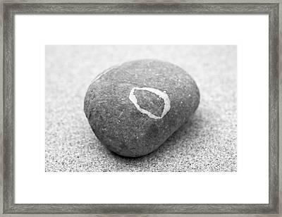 Pebble Framed Print by Frank Tschakert