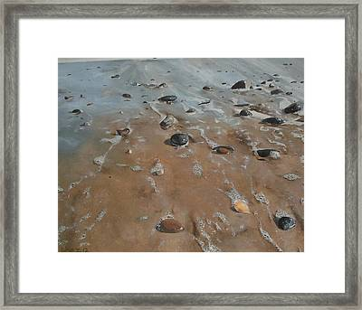 Pebbles Framed Print by Cherise Foster