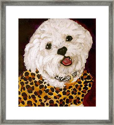 Pebbles Framed Print by Debi Starr
