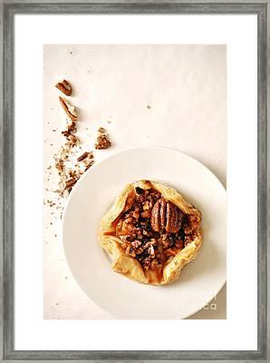 Pecan Pastry Framed Print