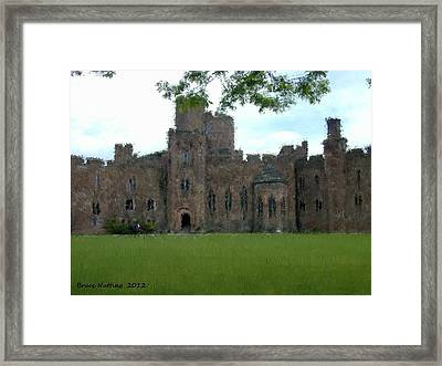 Peckforton Castle Framed Print by Bruce Nutting