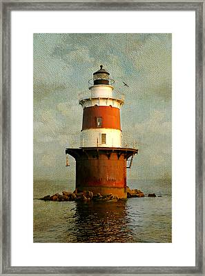 Peck's Ledge  Framed Print by Diana Angstadt