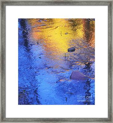 Pecos Reflection Framed Print
