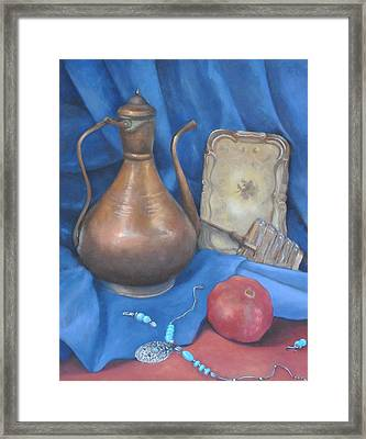 Peculiar Objects Framed Print