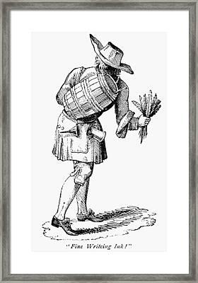 Peddlar, 18th Century Framed Print by Granger