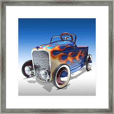 Peddle Car Framed Print