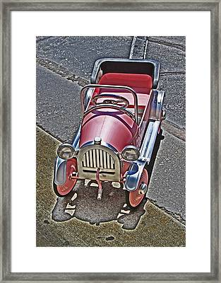 Peddle To A Tee Framed Print by Chet King