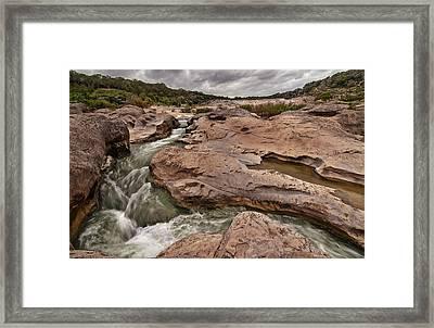 Pedernales Falls Framed Print