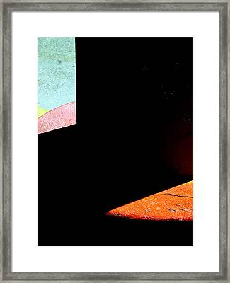 Pedestalight Framed Print