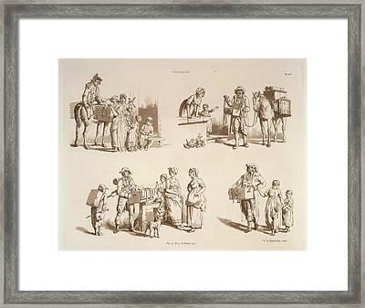 Pedlars Framed Print by British Library