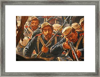 Pedro Americo Self Protriat Framed Print by Pedro Americo