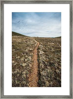Pedro Fages Trail Framed Print
