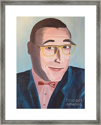 Pee Wee Herman Framed Print by Robert Yaeger