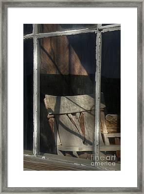 Peek Into The Past Framed Print by Sandra Bronstein
