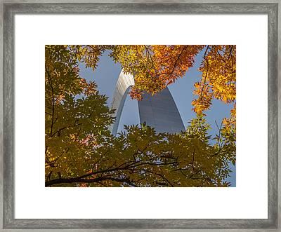 Framed Print featuring the photograph Peekaboo by David Coblitz