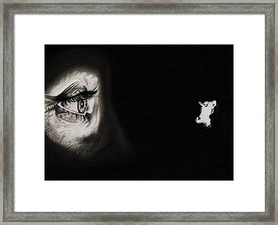 Peeping Tom - Psycho Framed Print