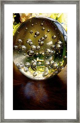 Peering Into The Universe Framed Print by Danielle  Broussard