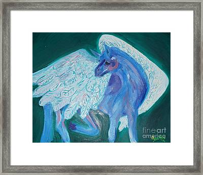 Pegasus Framed Print by Cassandra Buckley