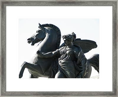 Pegasus Framed Print by Christopher Woods