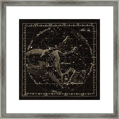 Pegasus Constellations, 1829 Framed Print by Science Photo Library