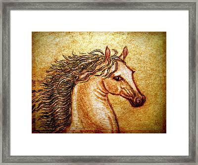 Pegasus Friend  Framed Print