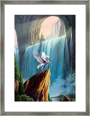 Pegasus Kingdom Framed Print